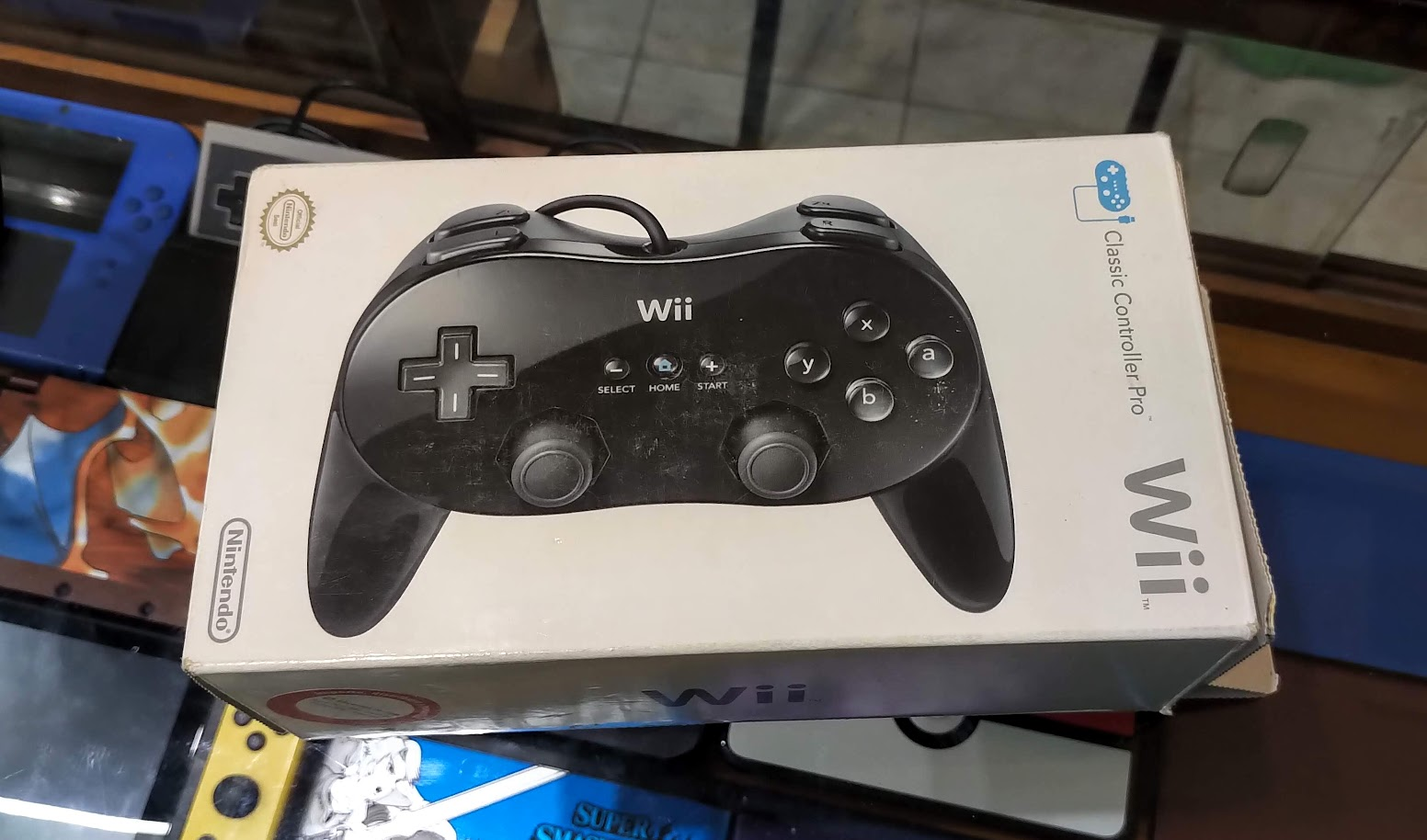 classic controller pro wiiwii u en caja original 5000